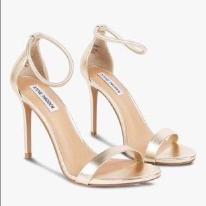Steve Madden💕Soph Champagne Strappy Sandals